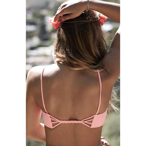 Sweet Strappy Cross-over Bikini Sets