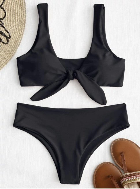 Black Knot Bikini Bathing Suit