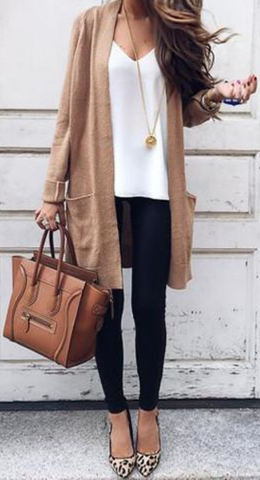 Street Chic Long Cardigan