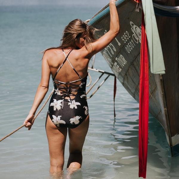The Black Sands One-Piece Swimsuit