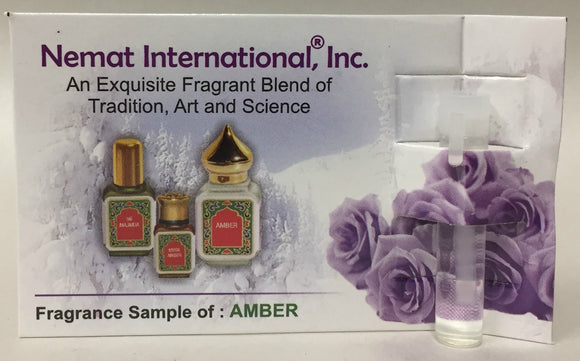 nemat amber oil sample