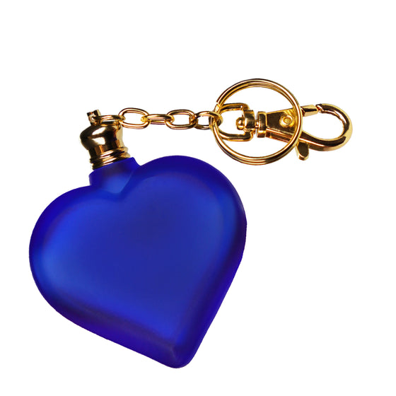 Fragrance Oil in Blue Heart Bottle