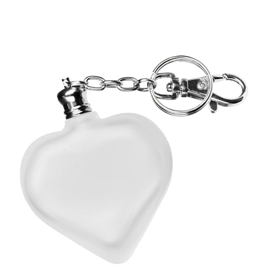Fragrance Oil in Frosted Heart Bottle