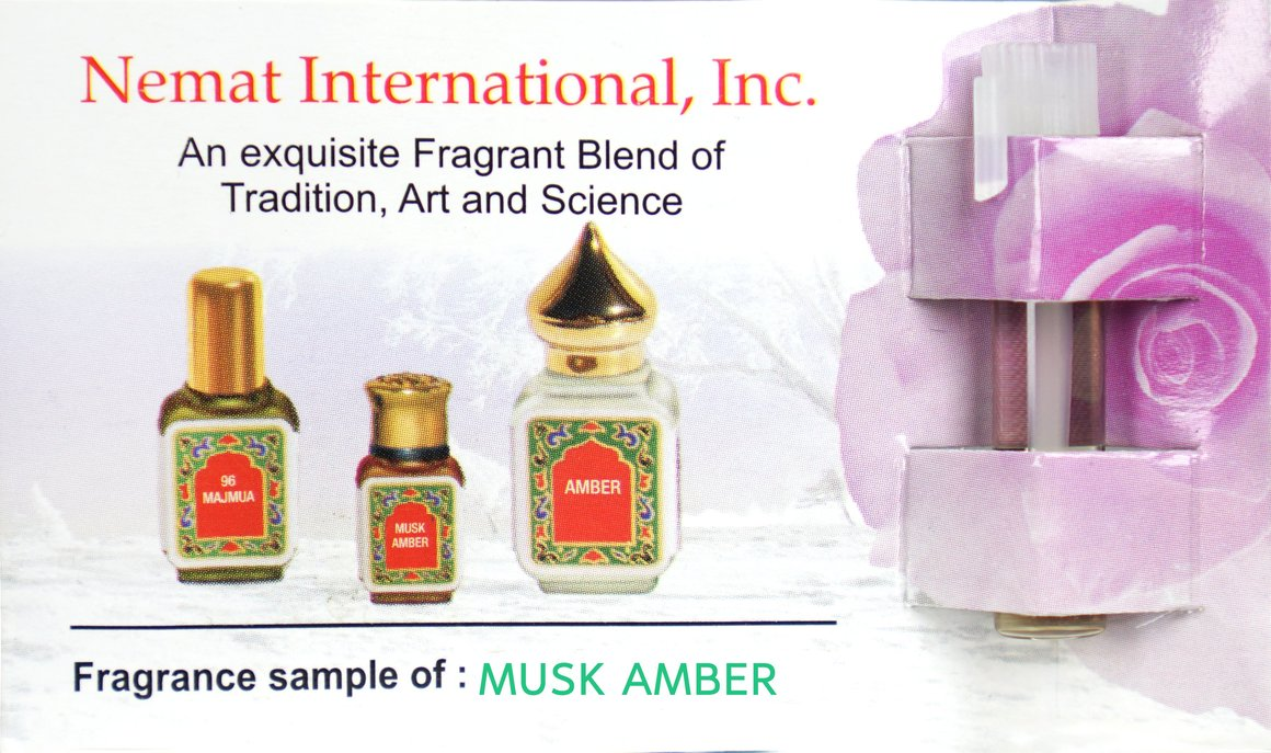 Musk Amber Fragrance Oil