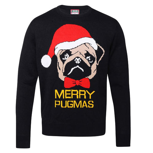 Adults Merry Pugmas Christmas Jumper
