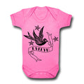Custom Name Bird Design - Bodysuit