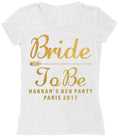 Black & Gold Bride To Be