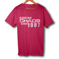 Causing Chaos Since 1987 30th Birthday T Shirt