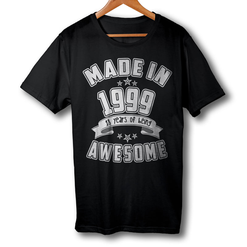Made in 1999 18th Birthday T-Shirt