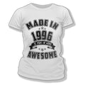 Made in 1996 21st Birthday T-Shirt