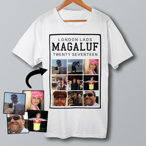 Selfie Picture Custom T Shirt