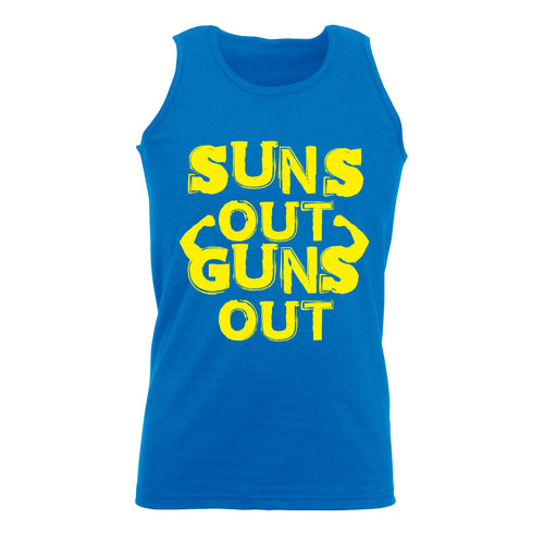 Suns Out Guns Out - Holiday Vest