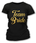 Black & Gold Team Bride