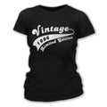 Vintage Since 1996 21st Birthday T Shirt