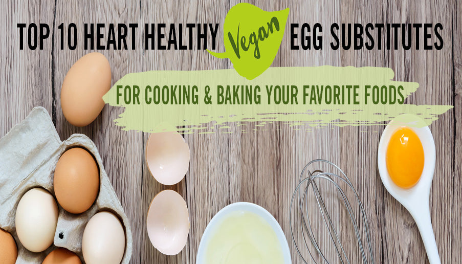 Vegan Egg Substitute for Baking AND Cooking - TOP 10 BEST