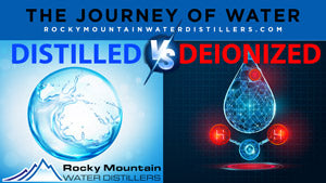 distilled vs deionized water