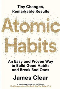 atomic habits book front cover