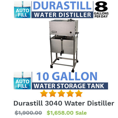 Commercial Grade Water Distiller 3040