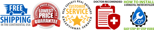 Rocky Mountain Water Distillers Customer Service Banner