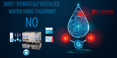 does distilled water have chlorine in it