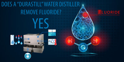 does distilling water remove fluoride