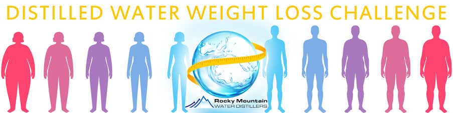 drinking distilled water for weight loss challenge