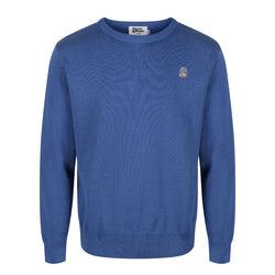 Blueberry Cotton Jumper - Sauce and Brown