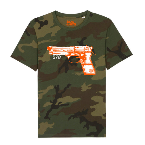 Camo Water pistol - Sauce and Brown