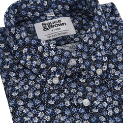 Dixon Floral - Sauce and Brown
