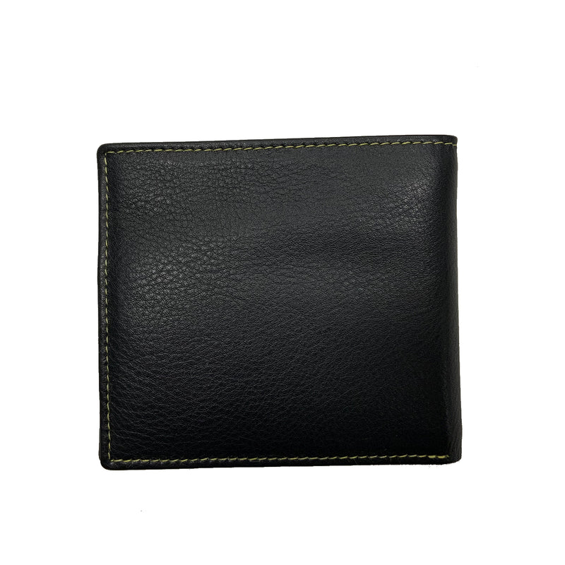 Heathcote Credit Card Wallet Black - Sauce and Brown