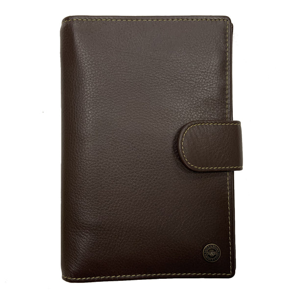 Heathcote Leather Document Holder Brown - Sauce and Brown