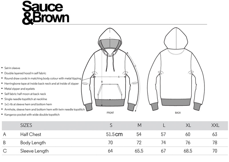 Coal Coin Hoody - Sauce and Brown