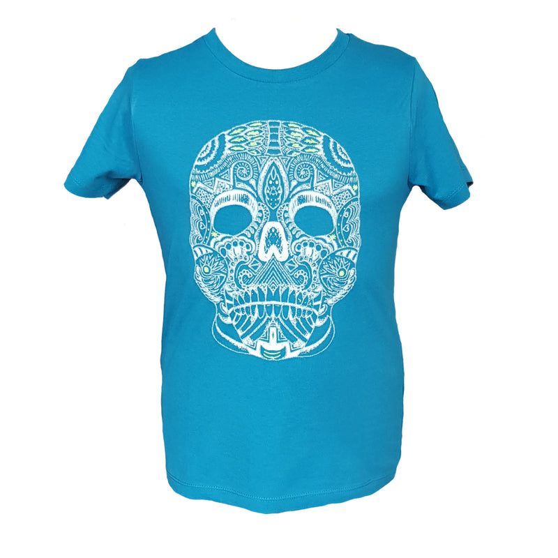 Kids Flo Skull - Sauce and Brown