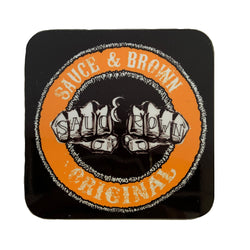 Knuckles Coaster - Sauce and Brown