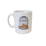 Birdcage Mug - Sauce and Brown