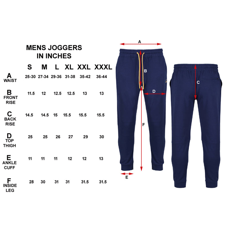 Navy Jogger - Sauce and Brown