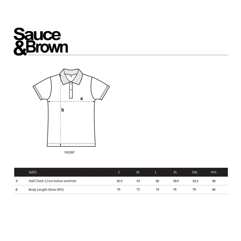 Ocean Polo - Sauce and Brown