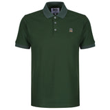 Racing Green Polo - Sauce and Brown