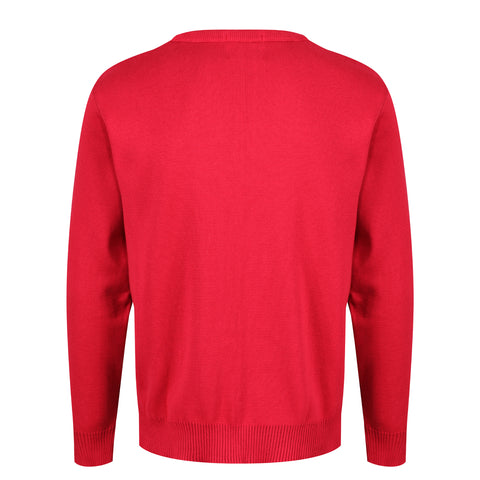Redcurrant Cotton Jumper