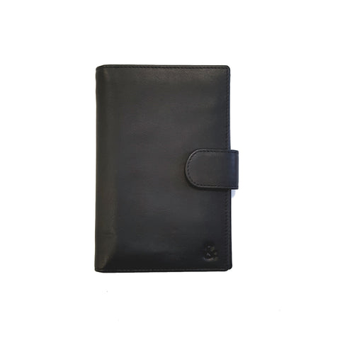 Black Leather Document Holder