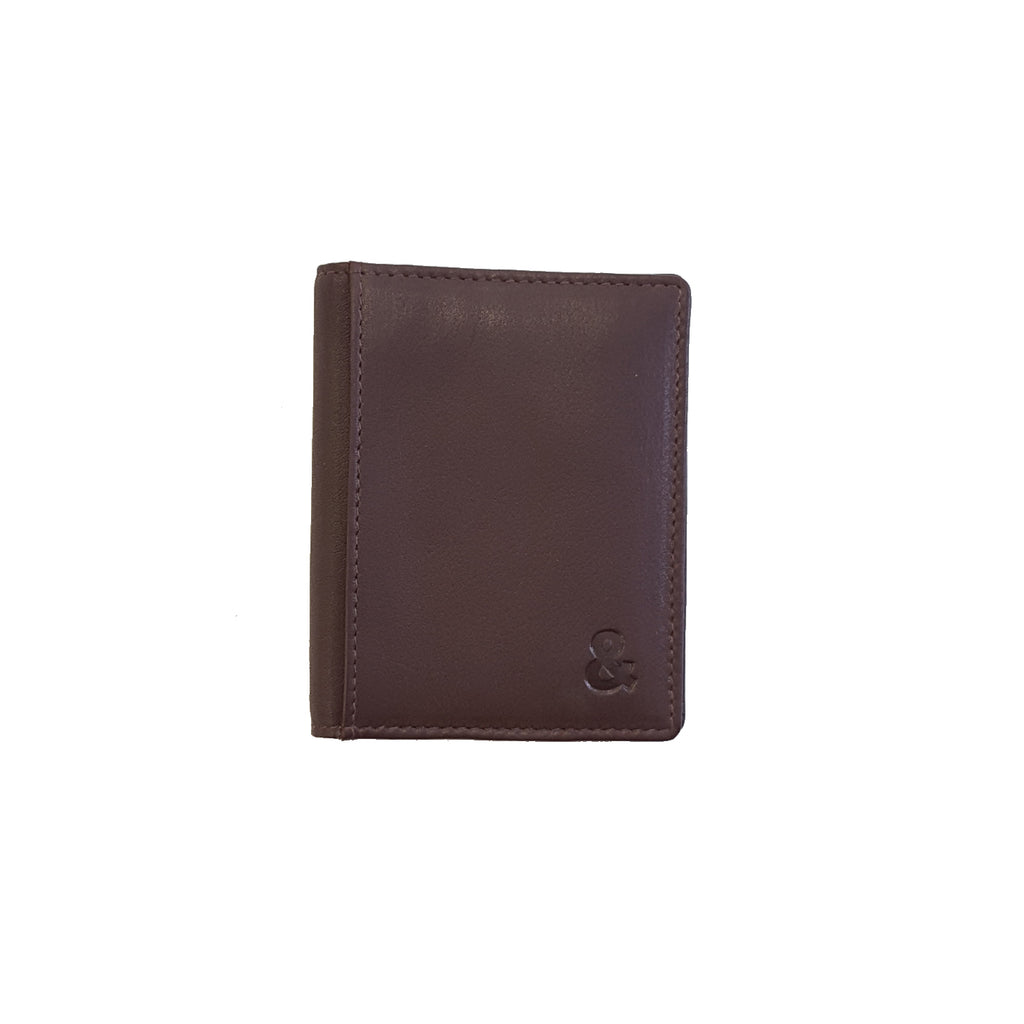 Brown Leather Credit Card Holder