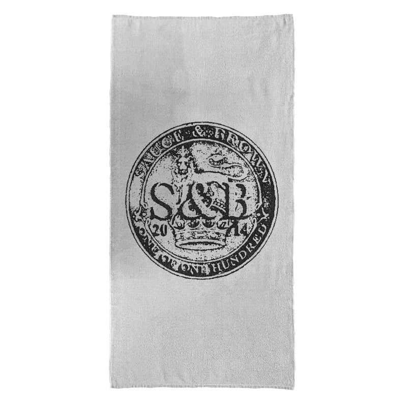 Coin Beach Towel - Sauce and Brown