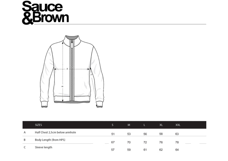 Gascoigne Tracky Top - Sauce and Brown