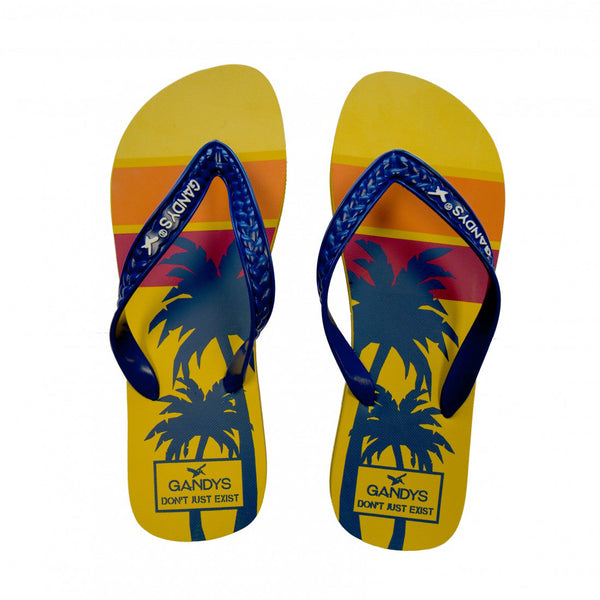Hawaiian Tropics flip flops - Sauce and Brown