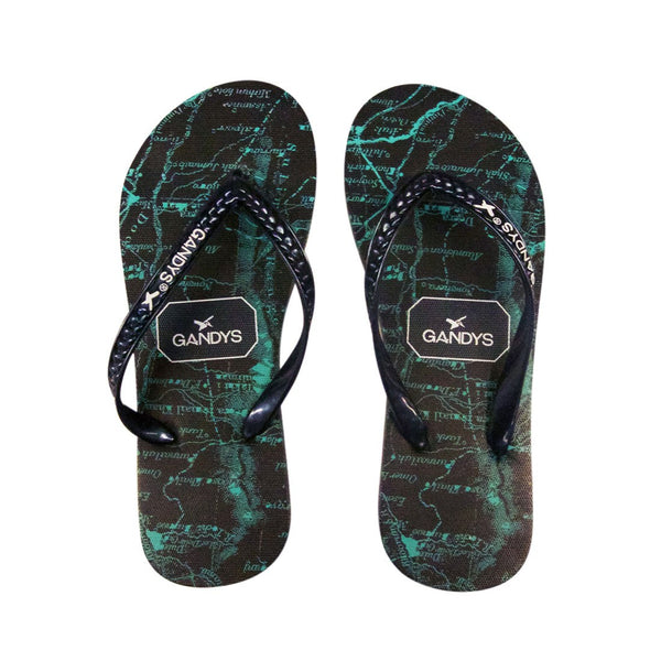 Navy Atlas Flip Flops - Sauce and Brown