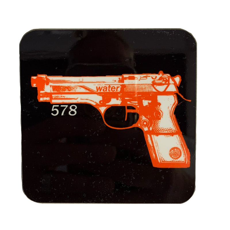Pistol Coaster - Sauce and Brown