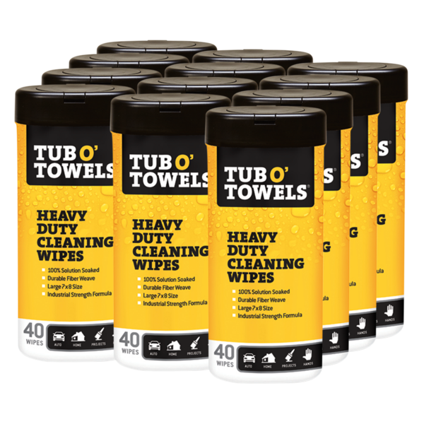 Tub O' Towels 40 count 12-pack