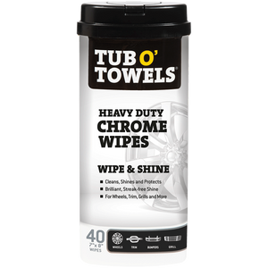 40-Count Chrome Wipes