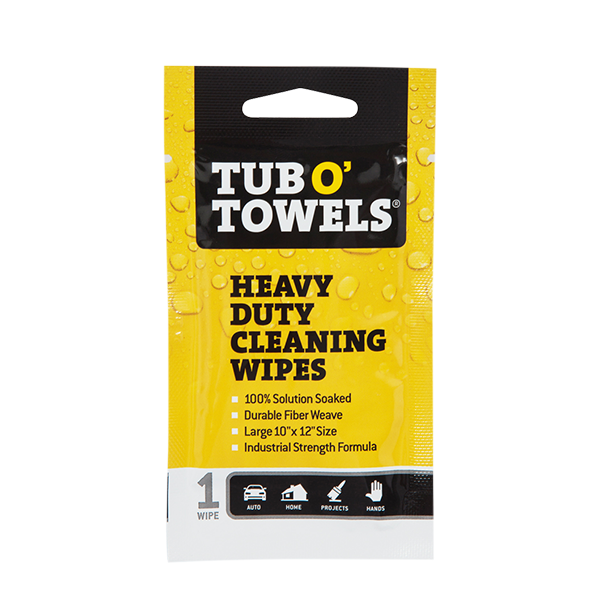 Single-Packs Heavy Duty 10346326787 Heavy Duty Cleaning Wipes
