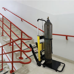 Mobile Stairlift Dolly With Cylinder Strap
